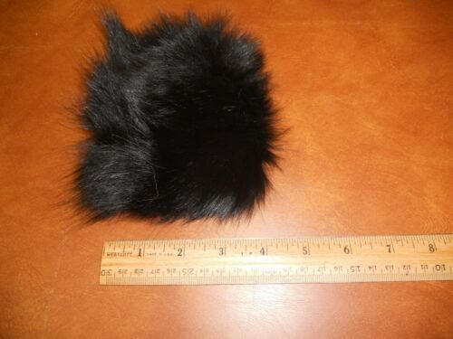 Black fox fur...mountain man crafts fly tying
