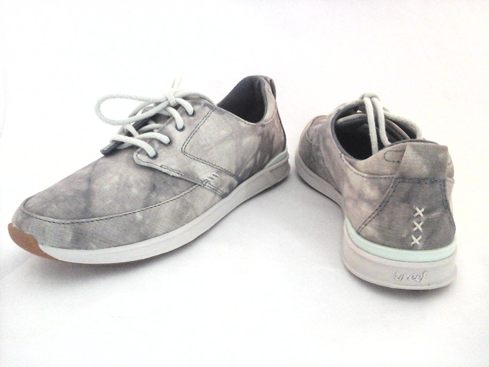 Reef Rover basse Texas Women's gris/crème camouflage/tie dye Décontracté Baskets Chaussures New