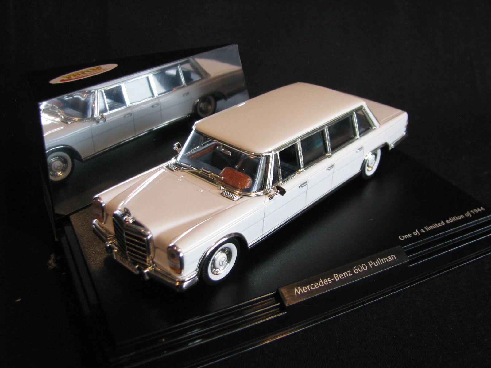 Vitesse Mercedes-Benz 600 Pullman 1 43 White (JS)