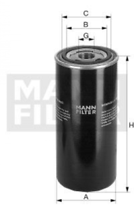 Mann WD 724//5 Hydraulik-Ölfilter