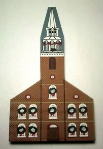 Details About Cats Meow Village Old South Meeting House New New England Christmas 1989 Pine