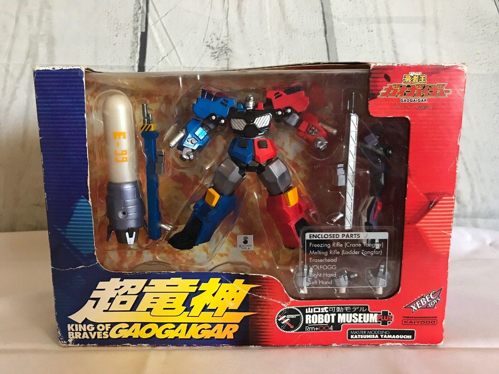 GaoGaiGar King of Braves Volfogg 1997 Sealed Transformers Xebec Toys Kaiyodo