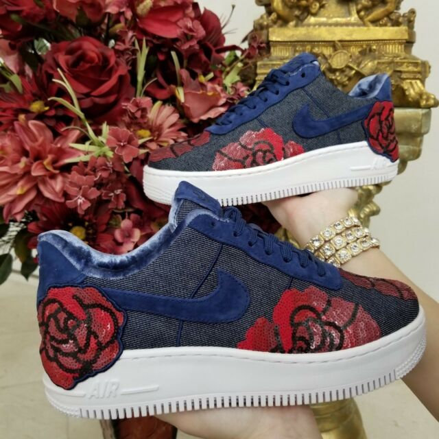 551c15d1bbe7f6 Frequently bought together. Nike Air Force 1 Low Upstep LX Floral Sequin  Women s ...