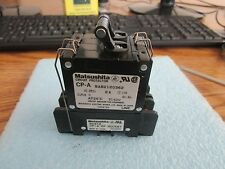 surface mount circuit breaker Matsushita w aux DIN contacts 1-15 amp BAC