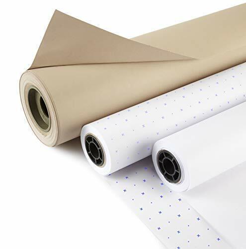 "36/"" Plain White Pattern Marking Paper x 50mts"