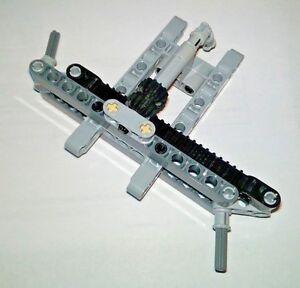 LEGO Black 1x8 Technic Mindstorms Gear Rack Steering Piece