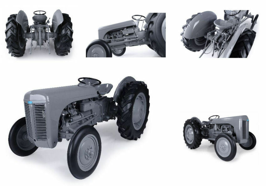 Ferguson Te 20 Trattore Vintage Tractor 1 8 8 8 Model R001 UNIVERSAL HOBBIES 7a4fdc