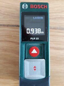 Ravissement Bosch Plr 15 Laser Rangefinder-afficher Le Titre D'origine Produits Vente Chaude