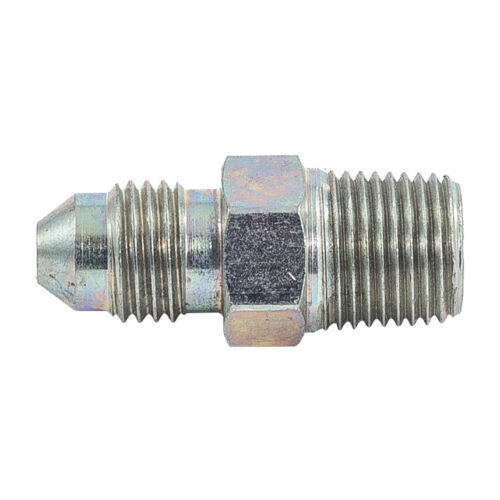 male-male raccord en acier -10 jic Automotive plumbing solutions 3//8 nptf x 7//8
