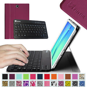 For-Samsung-Galaxy-Tab-A-9-7-SM-T550-Case-Cover-Stand-w-Bluetooth-Keyboard