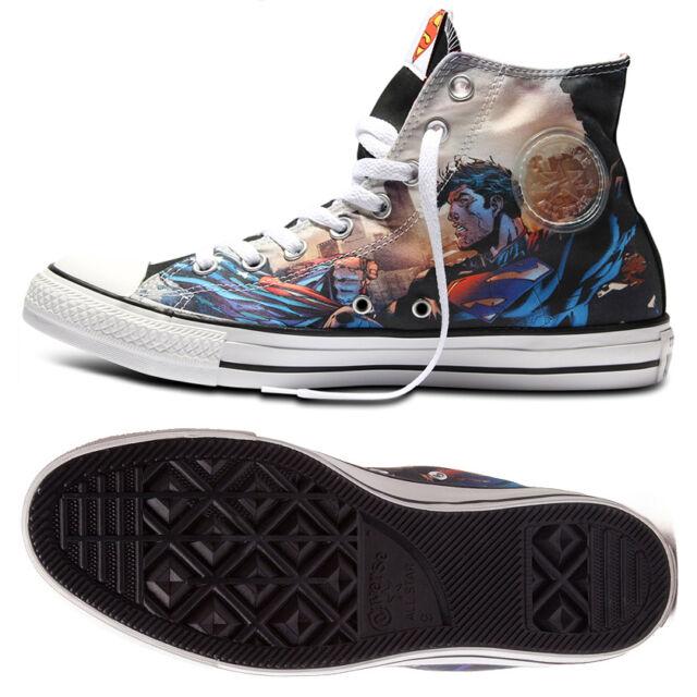3cdcb32cea0d Converse Chuck Taylor Hi All Star DC Comics Superman Flight 148355C Unisex  Shoes