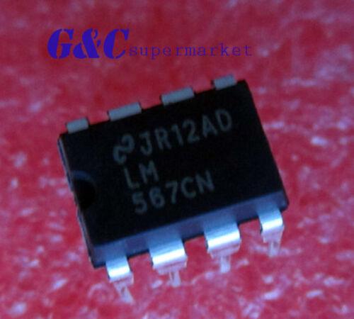 20PCS IC LM567 567 LM567CN DIP8 IC TONE DECODER NEW GOOD QUALITY