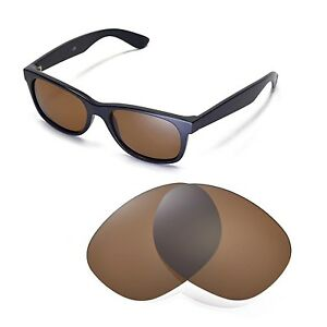 5738a849e3 Image is loading New-Walleva-Polarized-Brown-Replacement-Lenses-For-Ray-