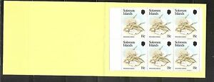 Solomon Islands SC # 516- 517( Panes ) Local Fungi .Booklet MNH