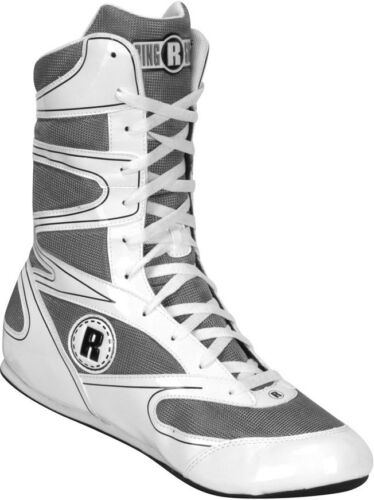 Ringside Hi-Top Undefeated Boxing Shoes White