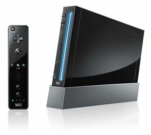 Genuine-Nintendo-Wii-Console-AUS-PAL-Format-Black-VGWC-Warranty