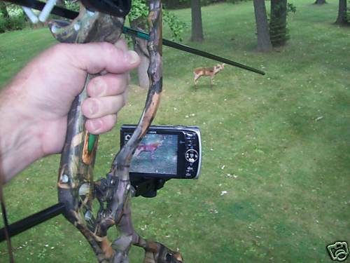 bow camera holder Bowpix Compound Bow Camera Mount Bow camera mount hoyt