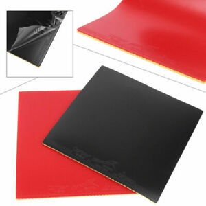 1 or4x Rubber Pips-in Table Tennis Racket Sponge For Ping Pong Paddle Red// Black