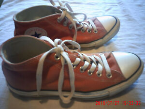 Converse All Star 3/4 top shoes (burnt