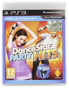 DANCE-STAR-PARTY-HITS-PS3-USATO-RICHIEDE-SISTEMA-MOVE