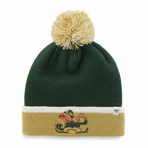 buy popular c3cba 49286 Image is loading NCAA-Notre-Dame-Fighting-Irish-Embroidered-Pom-Knit-