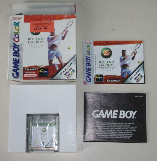 Gameboy Color - ROLAND GARROS FRENCH OPEN - in OVP - gebraucht