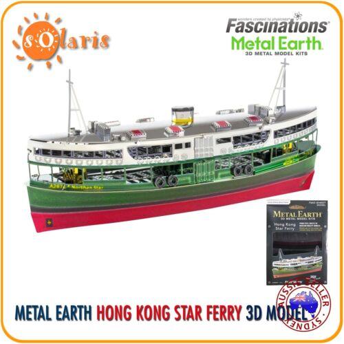 Fascination Metal Earth Hong Kong Star Ferry 3D Laser Cut Ship Model Kit
