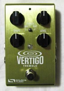 éNergique Utilisé Source Audio Sa243 Vertigo Vibrato One Series Pédale D'effets! Avec Puissance!-afficher Le Titre D'origine Garantie 100%