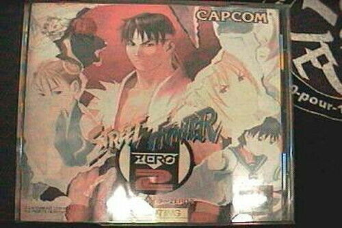 Usado PS1 Ps PLAYSTATION 1 Street Fighter ZERO2 54628 Importado de Japón