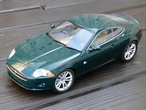 Jaguar-XK-Coupe-1-18-Minichamps-Juguete-Verde-Modelo-de-Coche-de-Carreras-Detallado-En-Caja