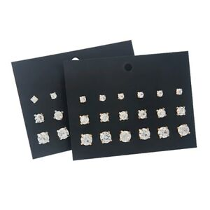 9-Pairs-Classic-Round-Cut-Cubic-Zirconia-Stud-Earrings-Set-For-Women-Jewelry