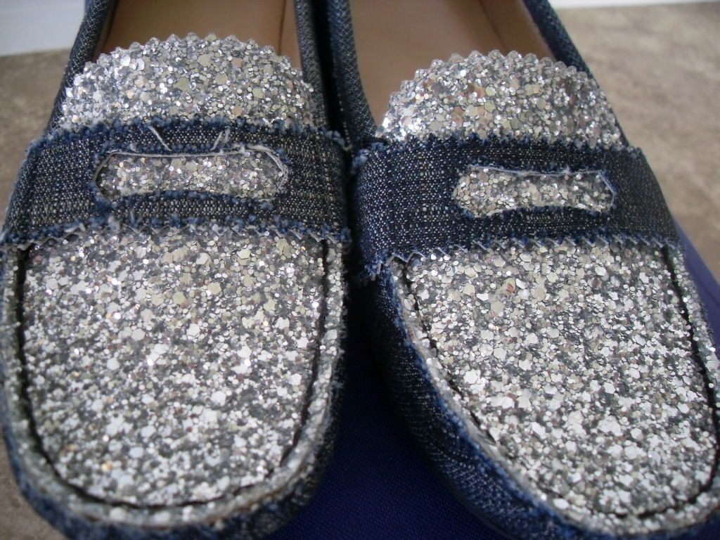 Stuart Weitzman Seen Denim Ballet Flats Shoes Sneakers Loafers Seen Weitzman on Celebs $495 6 931fa5