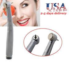 Dentist Dental Fast High Speed Handpiece Large Torque Push Button 3 Way 2hole Us