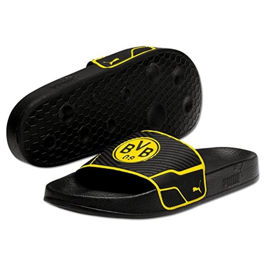 Puma Beach Sandals Slippers Leadcat Ts Bvb Dortmund 363520