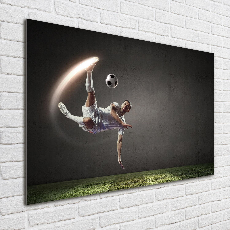 Wandbild aus Plexiglas® Druck auf Acryl 140x70 Sport Frau