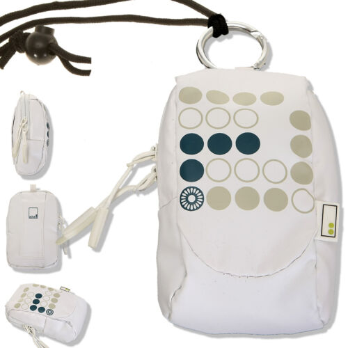 Estuche hama aha 70j bolsa de fotografía para cámara compacta cámara digital bolsa blanco