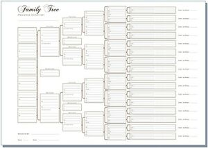 A3-Six-Generation-Family-Tree-Chart-Pedigree-pack-of-3-Rolled-in-a-Tube