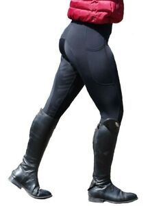 Silicone-Grip-Horse-Riding-Leggings-Tights-Breeches-With-Phone-Pocket-NEXT-DAY