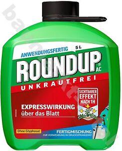 Roundup AC 5L Unkrautfrei Celaflor Unkrautvernichter Unkrautex gegen Unkraut