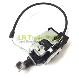 LAND-ROVER-DISCOVERY-3-amp-4-NEW-UPPER-TAILGATE-LATCH-CATCH-WITH-CABLE-LR017470