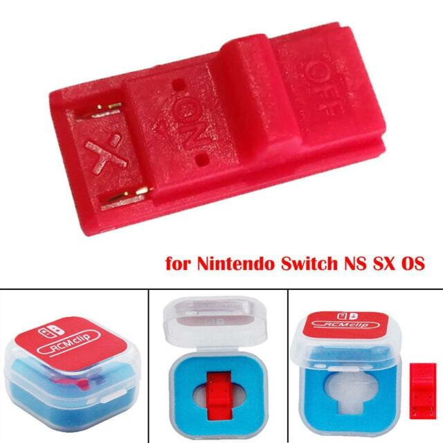 For Nintendo Switch RCM / NS SX OS Recovery Mode JIG Joycon Mod Hack  Keyring UK