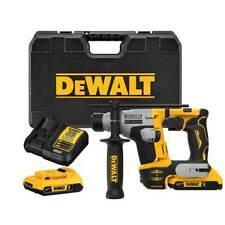 Dewalt Dch172d2 20v Max Atomic 58 Brushless Sds Plus Rotary Hammer Kit