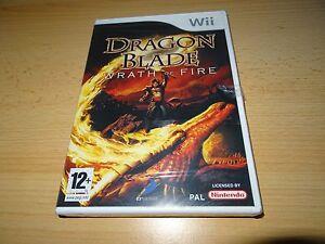 Juego-para-Nintendo-Wii-Dragon-Blade-Ira-de-Fuego-Nuevo-Empaquetado-Pal