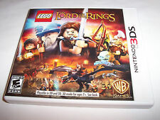 Lego The Lord of the Rings (Nintendo 3DS) XL 2DS Game w/Case & Manual