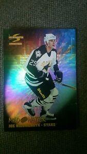 1995-96-Pinnacle-Summit-Mad-Hatter-13-Joe-Nieuwendyk-Dallas-Stars-Hockey-Card