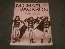 MICHAEL JACKSON-1958-2009-RARE MUSIC BOOK/PIANO/VOCAL/GUITAR/THRILLER/PYT/CRY
