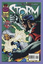 Storm #4 1996 X-Men Cable Morlocks Foil Cover Warren Ellis Terry Dodson Marvel v