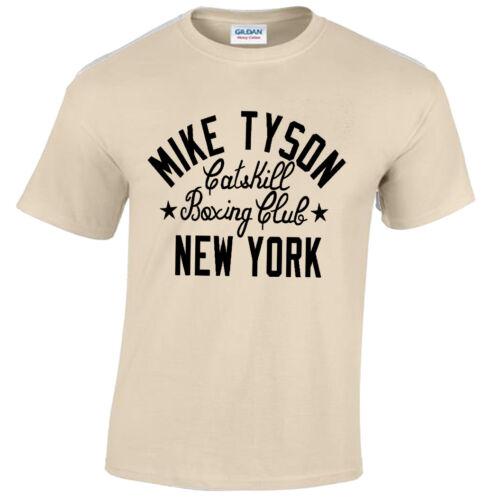 Mike Tyson Camiseta Hombre Boxeo Diseño Hierro Ejercicio Gimnasio Top
