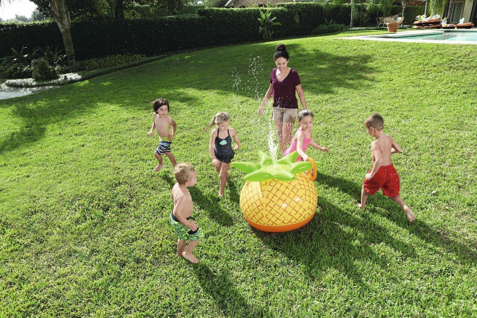 Bestway Kinder Ananas Wasser sprinkler-spritzgerät - inkl. aufblasbar Ring Wurf