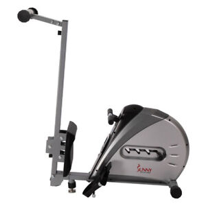 Sunny Health and Fitness Elastic Cord Rowing Machine Rower - (SF-RW5606)